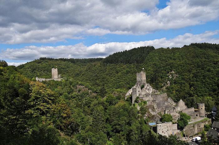 Burgen von Manderscheid