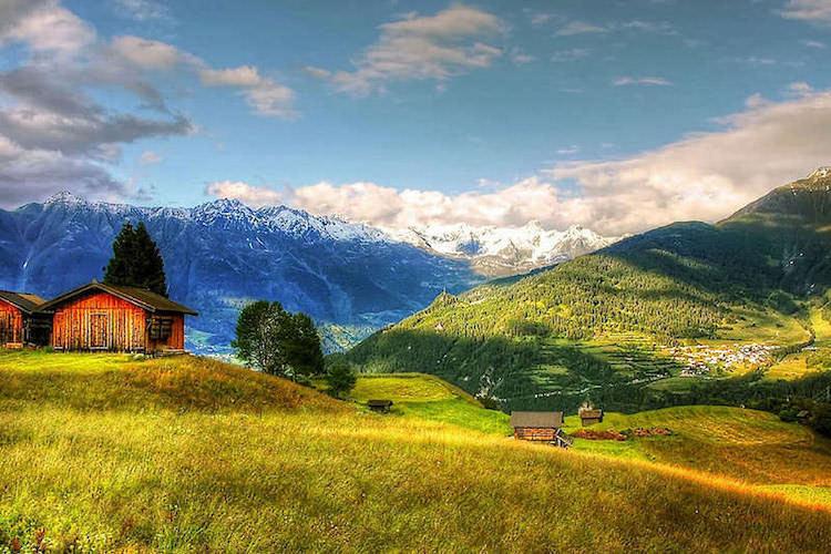 Vorbereitung Alpenüberquerung zu Fuß