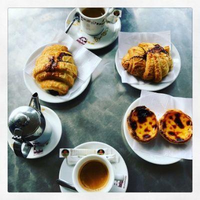 Portugiesisches Frühstück