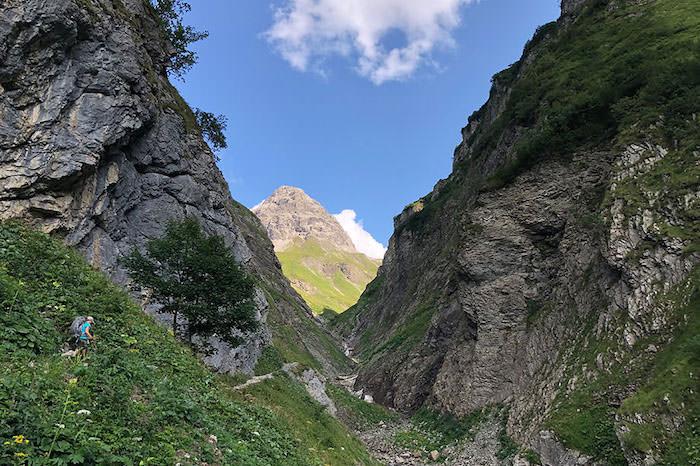 Etappe 1: Von Oberstdorf zur Kemptner Hütte