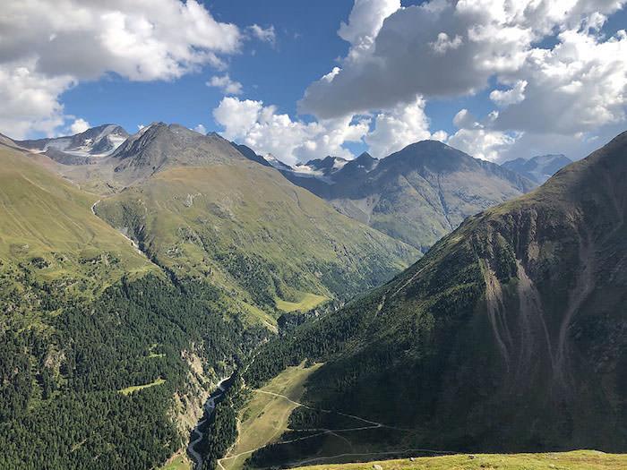Wenns nach Vent; Alpenüberquerung E5