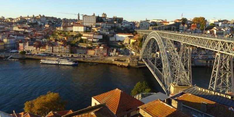 Aussicht Porto