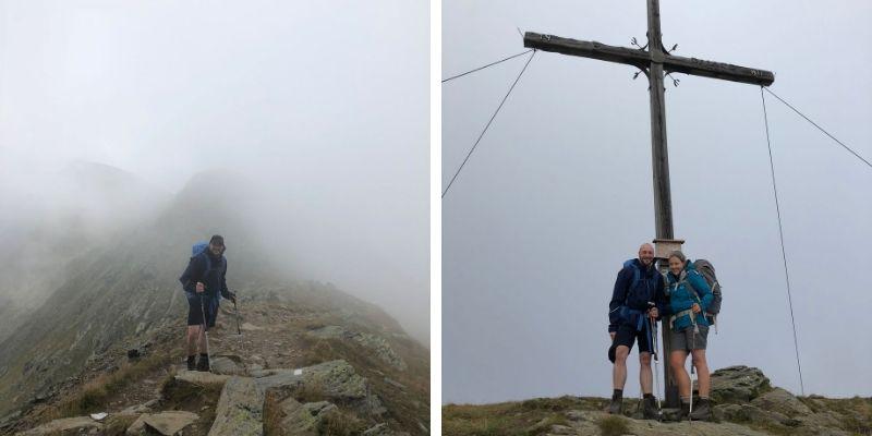 Gipfelkreuz Piller