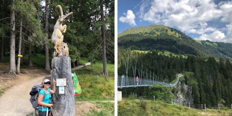 Hängeseilbrücke Höhenbachtal Holzgau