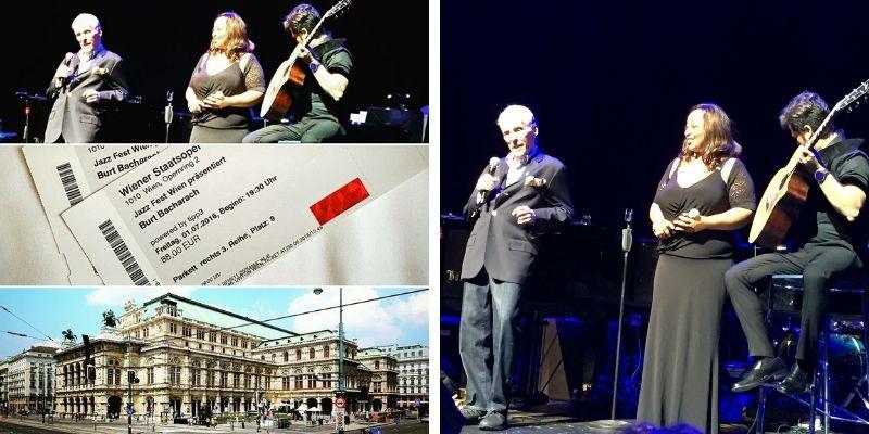 Jazz Fest Wien Burt Bacharach in der Staatsoper