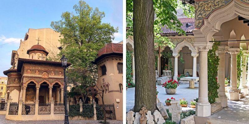 Rumänisch-orthodoxe Kloster Stavropoleos