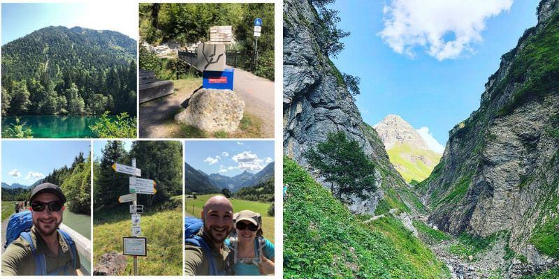 Von Oberstdorf zum Sperrbachtobel