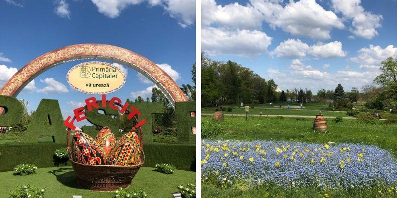 Ostern in Bukarest im König-Michael-I.-von-Rumänien Park