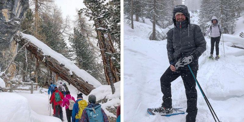 Schneeschuhwandern in Sulden