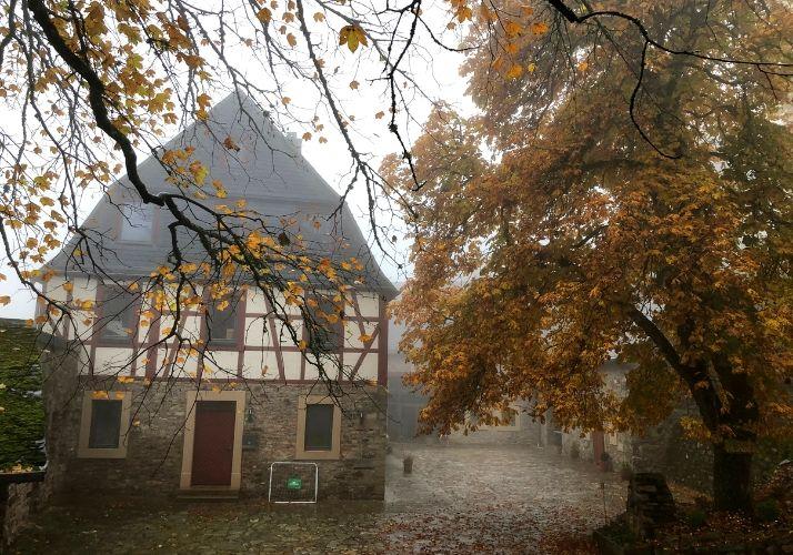 Wildenburg auf Etappe 12 des Saar-Hunsrück-Steig