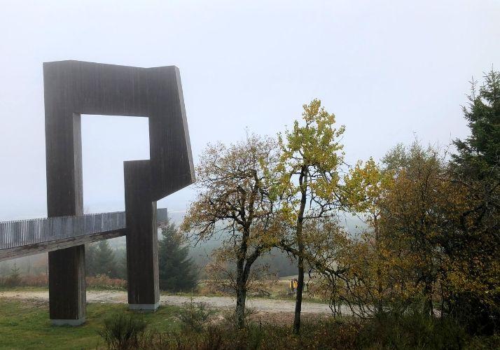 Nebel auf dem Erbeskopf