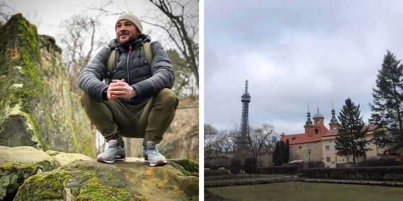 Natur und Petrin in Prag