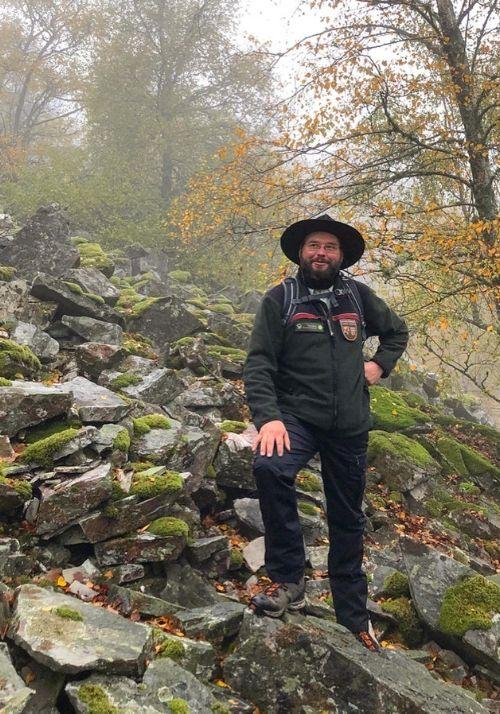 Ranger im Nationalpark Hunsrück Hochwald