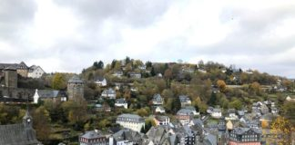 Ausblick auf Monschau