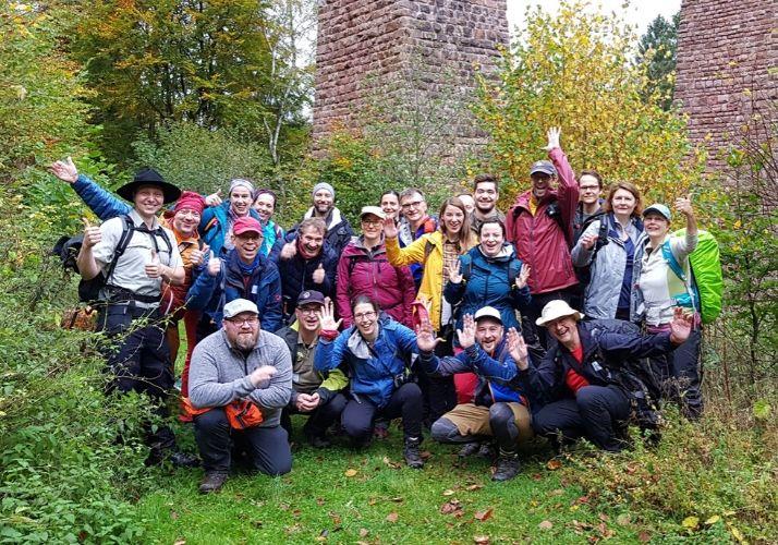 Bloggerwandern 2019 im Nationalpark Hunsrück Hochwald