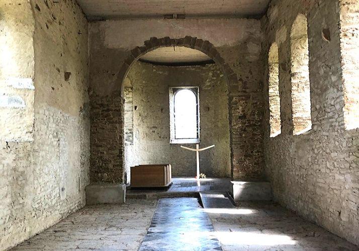 Kirche von Wollseifen von innen