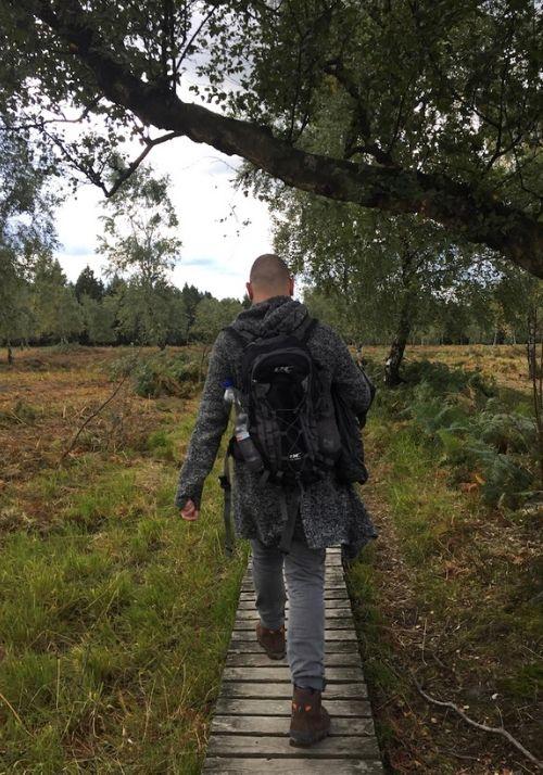 Auf Holzstegen durch das Naturschutzgebiet Struffelt