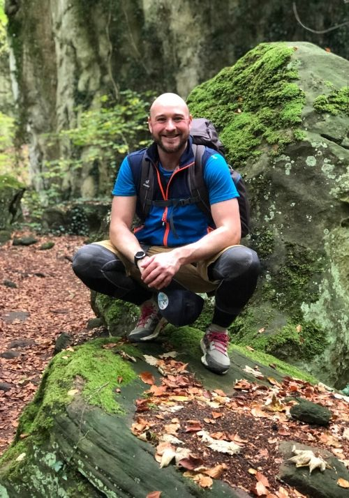 Nick auf dem Mullerthal Trail