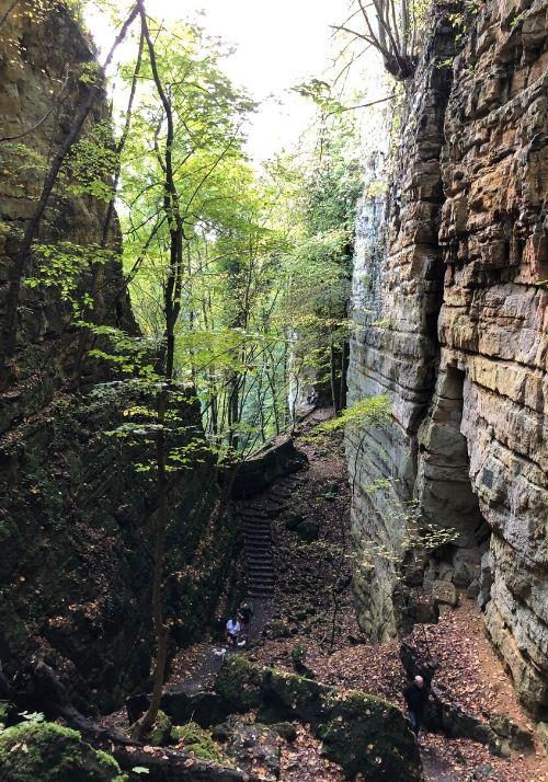 Wolfschlucht auf dem Mullerthal Trail