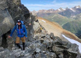 alpenüberquerung wandern - routen über die alpen