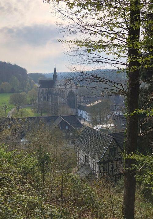 Ausblick auf den Altenberger Dom