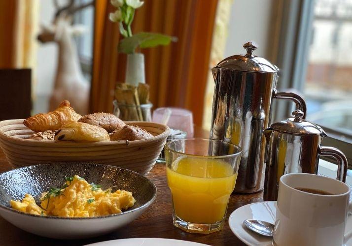 Frühstück im Hotel Die Sonne Frankenberg