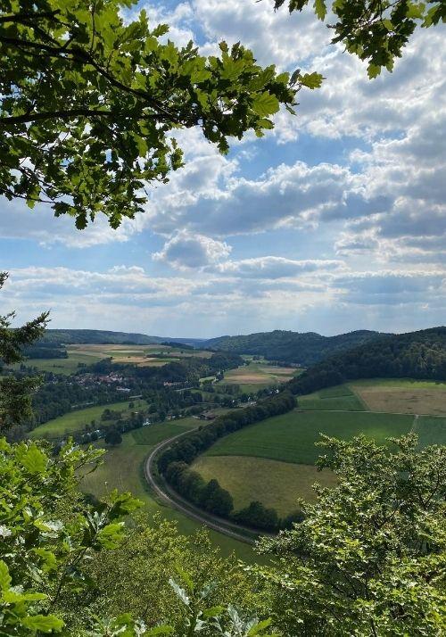 Ausblick Hagenstein