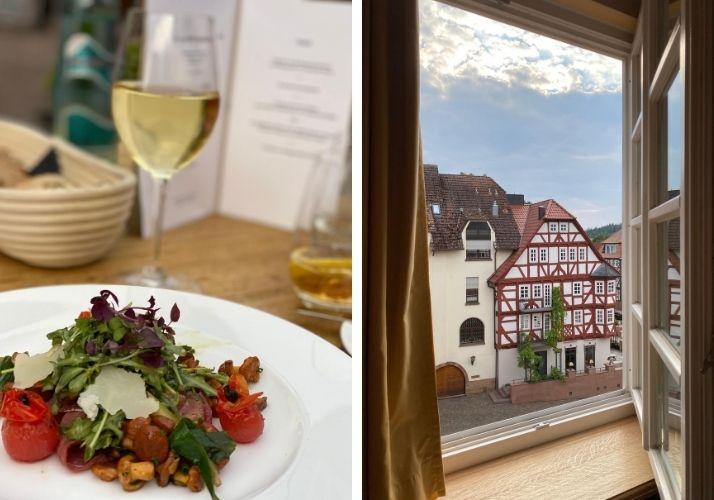 Abendessen Hotel Die Sonne Frankenberg
