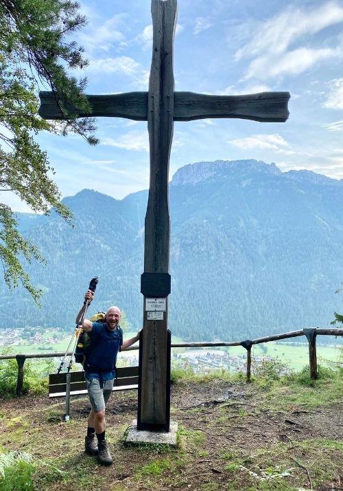 Gipfelkreuz am Hausberg Waidring