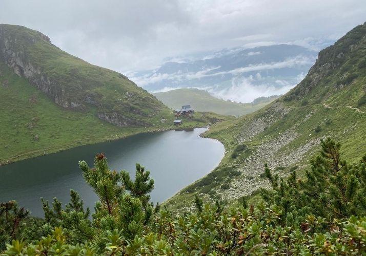 Aussicht auf den Wildseelodersee