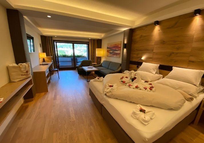 Zimmer im Hotel Tiefenbrunner in Kitzbühel