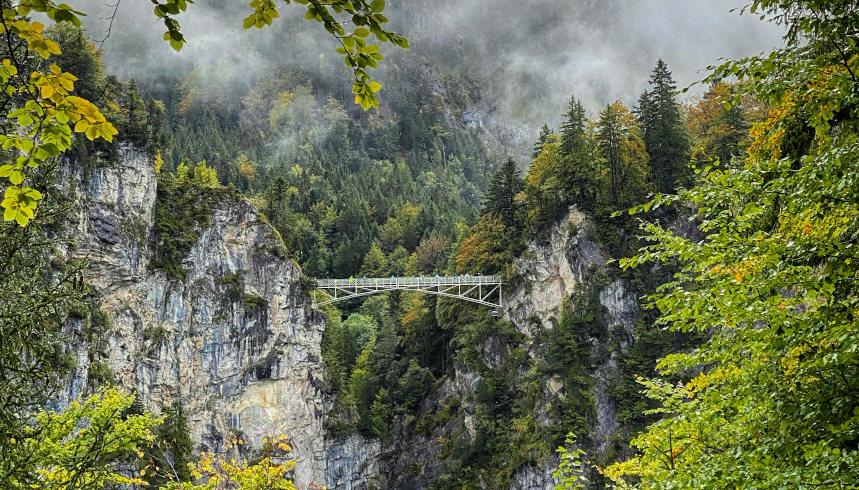 Aussicht auf die Marienbrücke