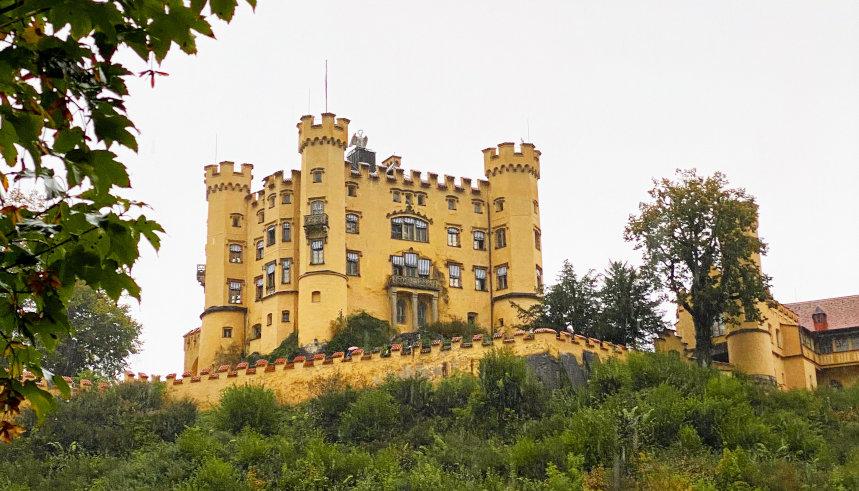Ausblick auf Schloss Hohenschwangau